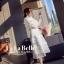 เดรสเกาหลี พร้อมส่ง ชุดเดรสเจ้าหญิงผ้าลูกไม้ปักสีขาว thumbnail 7
