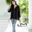 เสื้อเกาหลี พร้อมส่ง เสื้อปักสไตล์โบโฮ คอวี thumbnail 6