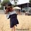 เดรสเกาหลี ผ้ายืด พร้อมส่ง thumbnail 5