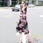 ชุดเดรสเกาหลี พร้อมส่ง เดรสผ้าคอตตอนโพลี่ thumbnail 9