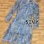 พร้อมส่ง Dress ยาว คอกลมแขนยาว thumbnail 8