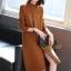 เดรสเกาหลี พร้อมส่ง Dress คอปีน แขนยาว thumbnail 8