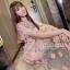 ชุดเดรสเกาหลี พร้อมส่ง Dress ชุดกระโปรงยาว thumbnail 3