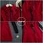 เดรสเกาหลี พร้อมส่ง เดรสทรงสวย ผ้าสำลีแบบนิ่ม thumbnail 3