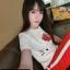 เสือผ้าเกาหลี พร้อมส่ง เสื้อกับกางเกงเอวสม็อค thumbnail 7