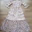 ชุดเดรสเกาหลี พร้อมส่ง Maxi Dress แต่งลูกไม้ thumbnail 3