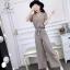 เสื้อผ้าเกาหลี พร้อมส่ง ชุดเซ็ท 2 ชิ้นอัดพีท thumbnail 4