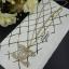 พร้อมส่ง Chanel Necklace & Brooch งานเพชร Swarovski thumbnail 2