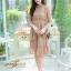 ชุดเดรสลูกไม้ พร้อมส่ง Lace Dress ทรงบาน thumbnail 15
