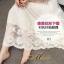 ชุดเดรสเกาหลี พร้อมส่ง Dress ลูกไม้ คอเหลี่ยม thumbnail 13