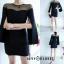 เดรสเกาหลี Mini dress ดีไซร์แขนผ่าเก๋ๆ thumbnail 4