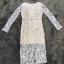พร้อมส่ง Long dress ลูกไม้สีเทา thumbnail 6