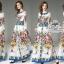 ชุดเดรสเกาหลี พร้อมส่ง เดรสผ้าชีฟอง เนื้อซิลล์ thumbnail 2