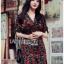 เดรสเกาหลี พร้อมส่ง เดรสผ้าเครป พิมพ์ลายดอกกุหลาบสีแดง thumbnail 4