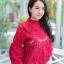 เสื้อเกาหลีลูกไม้คอกลม ผ้าชีฟอง พร้อมส่ง thumbnail 16