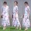 ชุดเดรสเกาหลี พร้อมส่ง Maxi Dress ทรงปล่อย thumbnail 10