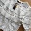 พร้อมส่ง เสื้อจัมเปอร์ผ้าลูกไม้สีขาว thumbnail 12