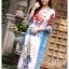 เดรสเกาหลี พร้อมส่ง Dress ปริ้นลาย thumbnail 7