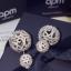 เครื่องประดับ พร้อมส่ง APM Earring ต่างหูเพชร CZ แท้ thumbnail 5