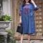 ชุดเดรสแฟชั่น พร้อมส่ง Dress ผ้ายีนเนื้อนิ่ม thumbnail 6