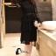 พร้อมส่ง Mini dress แขนยาวทรงแขนกระดิ่ง thumbnail 6
