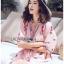 เสื้อเกาหลี พร้อมส่ง เสื้อผ้าคอตตอนปักลายดอกกุหลาบ thumbnail 4