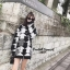 เดรสเกาหลี พร้อมส่ง Dress ไหมพรมลายชิโนริ thumbnail 1