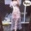 ชุดเดรสเกาหลี พร้อมส่ง Dress ชุดกระโปรงยาว thumbnail 9