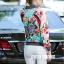 เสื้อเกาหลี พร้อมส่ง Jacket Gucci ปักผีเสื้อ thumbnail 3