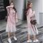 เดรสเกาหลี พร้อมส่ง Dress Hood แขนยาว thumbnail 8