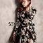 พร้อมส่ง Maxi dress ทรงคล้ายเสื้อคลุม thumbnail 6
