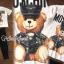 พร้อมส่ง เสื้อสกรีนลาย MCN แต่งลายหมี thumbnail 2