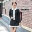 เสื้อผ้าเกาหลี พร้อมส่ง ชุดเซ็ทเสื้อ+กระโปรง thumbnail 1