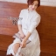 พร้อมส่ง Long shirt Dress เดรสเกาหลี thumbnail 3