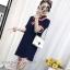 พร้อมส่ง Mini Dress คอปก แขนสั้น thumbnail 11