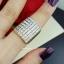 พร้อมส่ง Diamond Ring งานเพชรสวิส เพชร 7 แถว thumbnail 6
