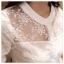 เสื้อเกาหลี พร้อมส่ง เสื้อ cotton ปักลายดอกไม้ thumbnail 3