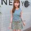 เสื้อผ้าเกาหลี พร้อมส่ง ชุดเซต เสื้อ+กระโปรง thumbnail 8