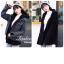 เสื้อเกาหลี พร้อมส่ง Jacket ยีนสีฟอกดำ thumbnail 3