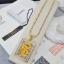 พร้อมส่ง สร้อยคอมังกรล้อมเพชร ทอง 5 ไมครอน thumbnail 1