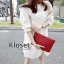เดรสเกาหลี พร้อมส่ง มินิเดรส จั๊มปลายแขนตุ๊กตา thumbnail 4