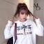 เดรสเกาหลี พร้อมส่ง มินิเดรส Gucci แขนยาว thumbnail 3
