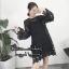 เดรสแฟชั่น พร้อมส่ง MINI Dress แขนกระดิ่ง thumbnail 4