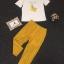 พร้อมส่ง เสื้อยืดปักรูปกล้วยด้านหน้าแต่งเลื่อม thumbnail 9