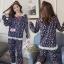 เสื้อผ้าเกาหลี พร้อมส่ง ชุดนอน Teddy Bear thumbnail 1