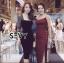 พร้อมส่ง Dress งานสวย ลุคเรียบหรูดูไฮโซ thumbnail 3