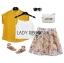 พร้อมส่ง เซ็ตเสื้อเชิ้ตแขนสั้นสีเหลืองมัสตาร์ด thumbnail 15