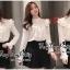 พร้อมส่ง เสื้อแฟชั่นเกาหลีสไตล์เจ้าหญิง thumbnail 5