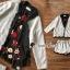 เสื้อผ้าเกาหลี พร้อมส่ง เสื้อสูทกุ๊นขอบผ้าลูกไม้ thumbnail 3