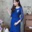 ชุดเดรสเกาหลี พร้อมส่ง Dress ลูกไม้ระบายชาย thumbnail 7